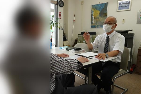 感染症対策を徹底して、安心してお話いただける環境を準備